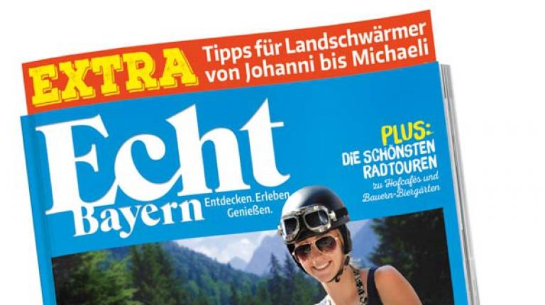 Echt Bayern - ab 11. Juni im Handel erhältlich.