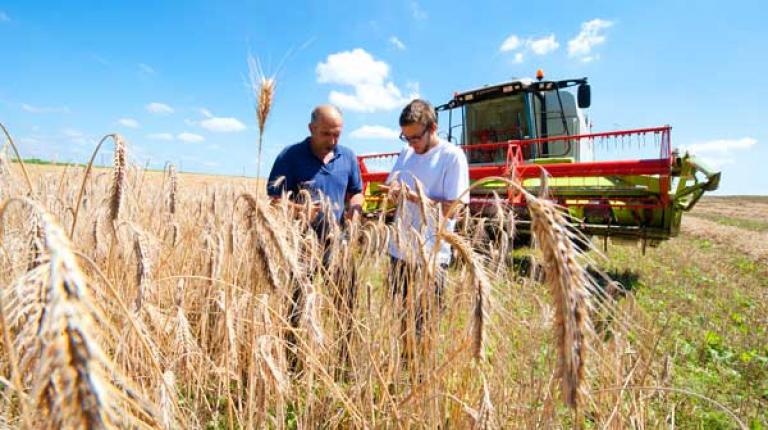 """""""Bayern ist ein landwirtschaftlich geprägtes Land"""", sagt Hans Müller, BBV-Generalsekretär vor dem Weltbauerntag der UNESCO am 1. Juni."""