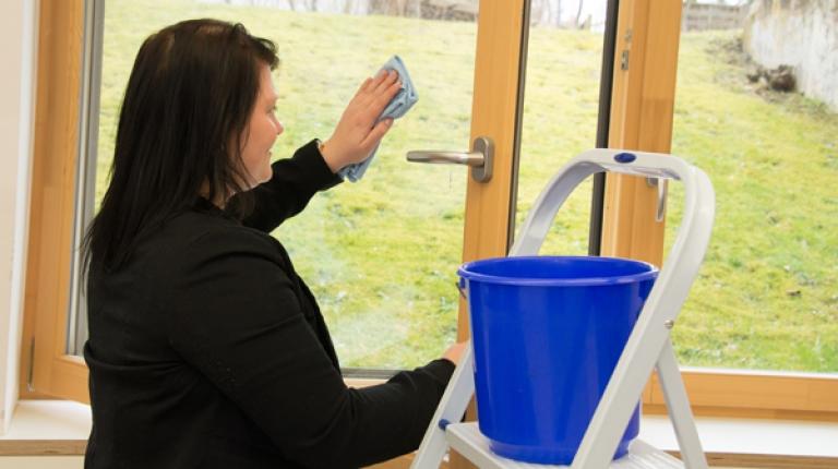 Landfrauen geben Tipps wie man Reinigungsmittel selbst macht.