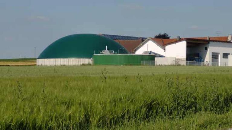 Zahlreiche landwirtschaftliche Erneuerbare-Energien-Anlagen leisten aktuell einen wesentlichen Beitrag zur Treibhausgaseinsparung.