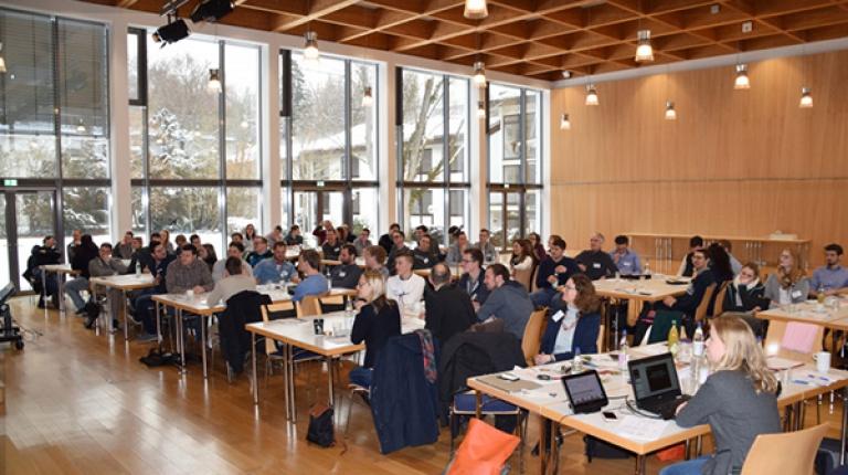 Rund 60 Teilnehmer und Teilnehmerinnnen waren 2018 bei der Herrschinger Jungunternehmertagung.