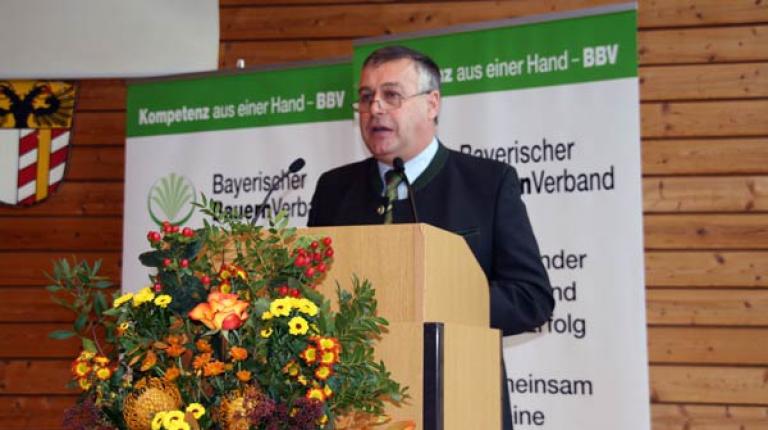 BBV-Präsident fordert die Politik auf, Profil zu zeigen - für eine moderne und innovative Landwirtschaft in Bayern.