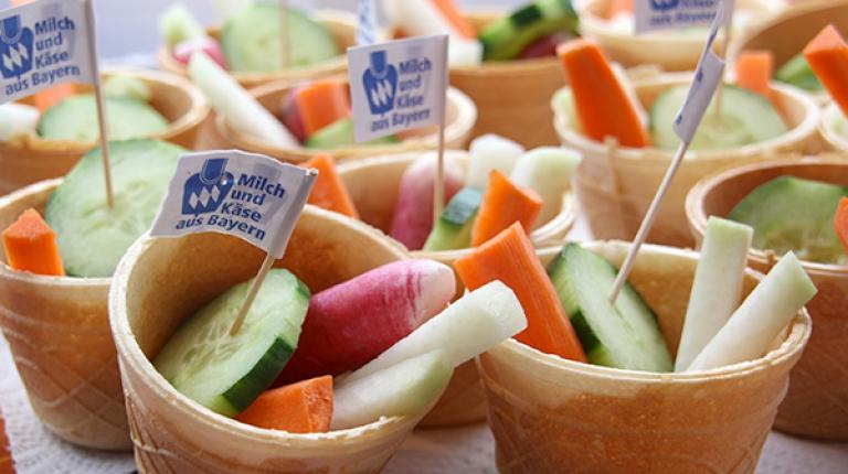 Eine frühzeitige Ernährungsbildung ist die beste Grundlage, um bereits jungen Verbraucher eine gesunde und ausgewogene Ernährung näher zu bringen.