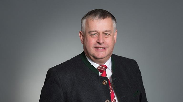 BBV-Präsident Walter Heidl