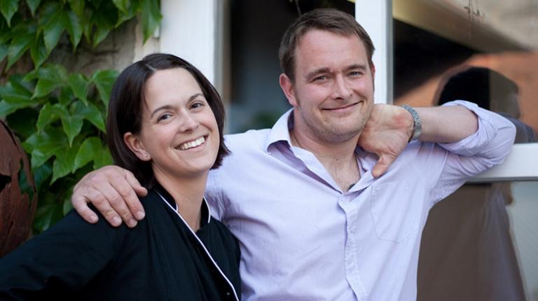 Simone Stahl und ihr Ehemann