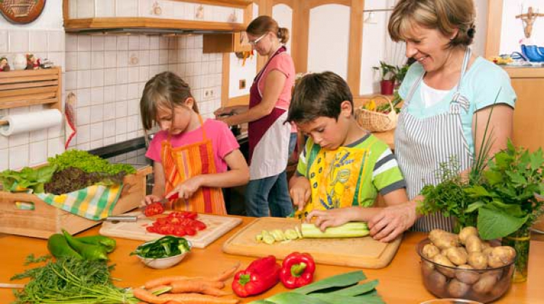 Den Landfrauen ist es ein wichtiges Anliegen, die Wertschätzung der Lebensmittel zu verbessern.