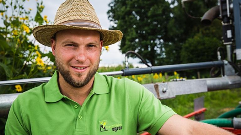 Georg Mayerhofer, Landwirt des Jahres und Gewinner in der Kategorie