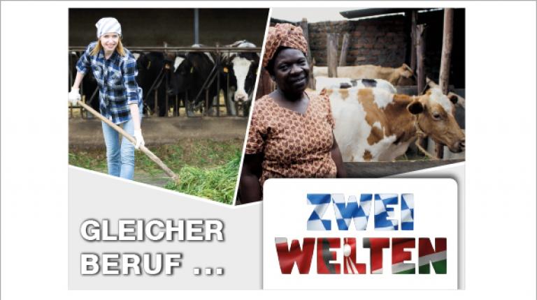 Gleicher Beruf - zwei Welten - die Landfrauen im Bayerischen Bauernverband unterstützen kenianische Bäuerinnen auf ihrem Weg in die Selbstständigkeit.