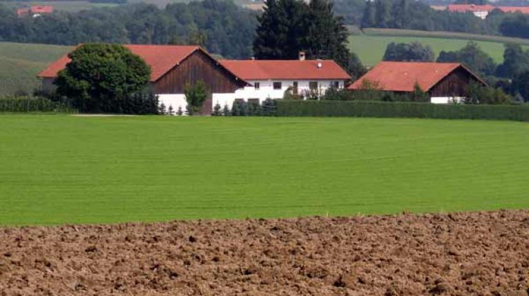 In Bayern wirtschaftet jeder zweite landwirtschaftliche Betrieb im Nebenerwerb.