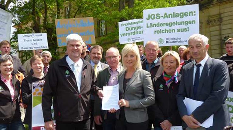 Der BBV macht landwirtschaftliche Anliegen bei Konferenz deutscher Umweltminister deutlich.