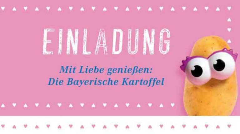 Die Bayerische Kartoffel präsentiert unter anderem den neuen Kalender