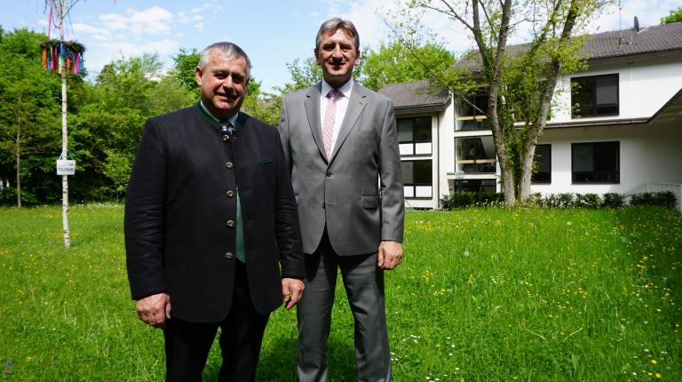 Bauernpräsident Walter Heidl mit seinem Stellvertreter Günther Felßner.