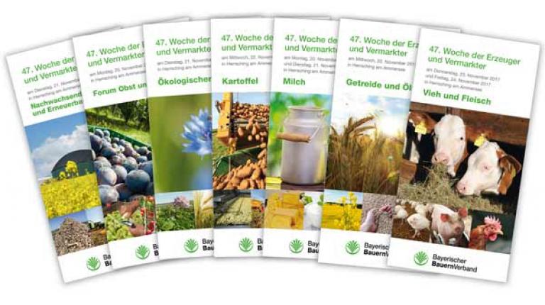 Ein vielseitiges Programm bietet die Woche der Erzeuger und Vermarkter.