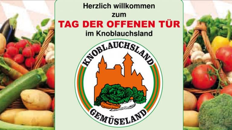 """einladung zum """"tag der offenen tür"""" im knoblauchsland, Einladung"""