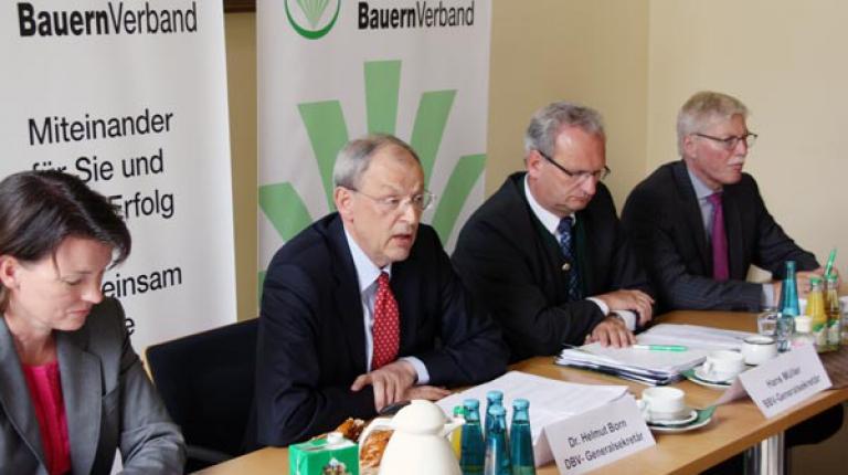 Pressegespräch zum Deutschen Bauerntag 2012