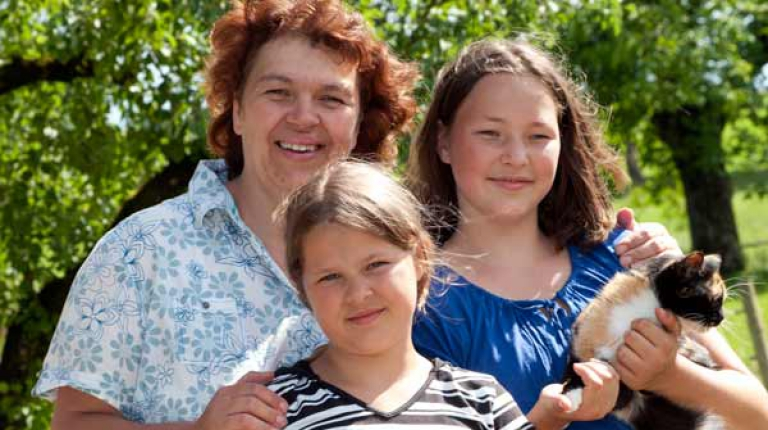 Die Landfrauen im BBV fordern eine Rentengerechtigkeit bei der Gleichstellung der Anerkennung von Kindererziehungszeiten.