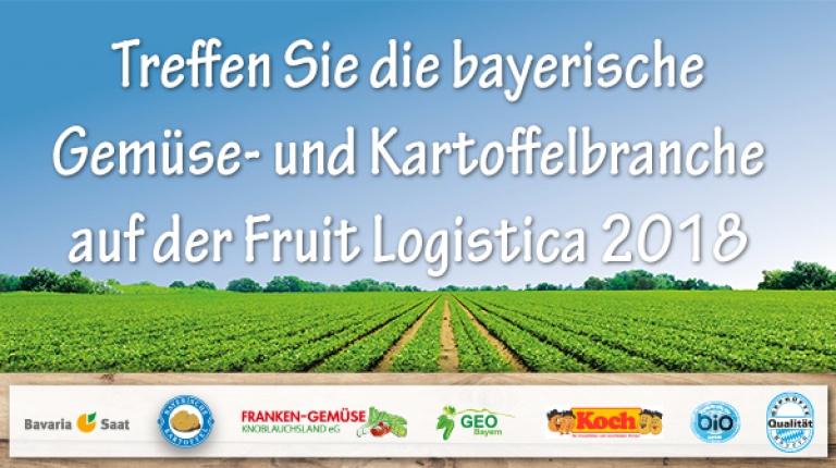 Der Stand der Bayerischen Kartoffel ist längst zu einem Treffpunkt auf der FRUIT LOGISTICA für die gesamte Kartoffelbranche geworden