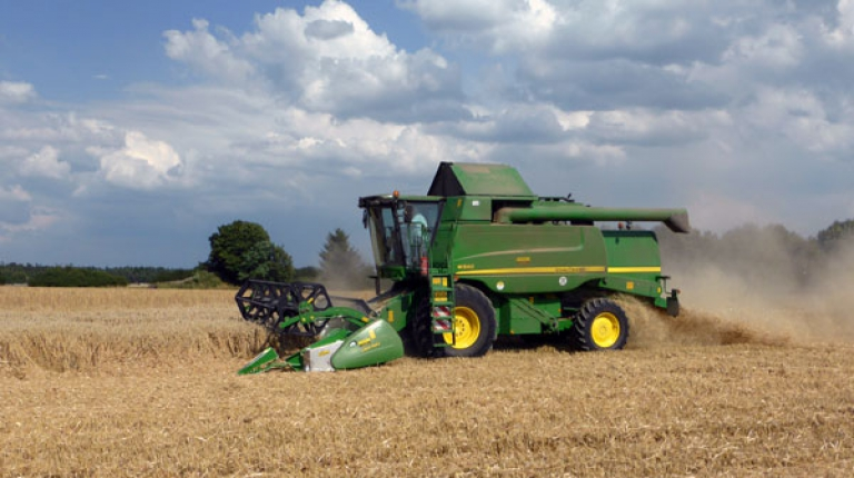 Die diesjährige Getreideernte fällt regional sehr unterschiedlich aus.