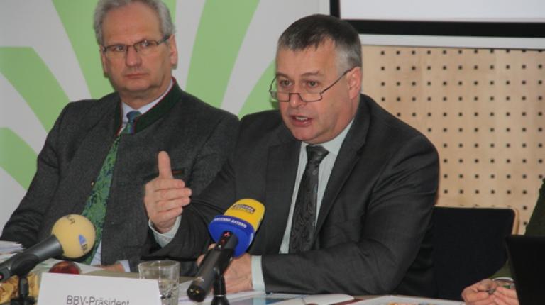 BBV-Präsident Heidl fordert starke Agrarpolitik für bayerische Landwirte.