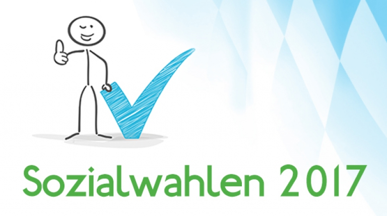 Beteiligen Sie sich an der Sozialwahl 2017!