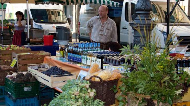 Bauernmarktmeile geht 2012 in die dritte Runde