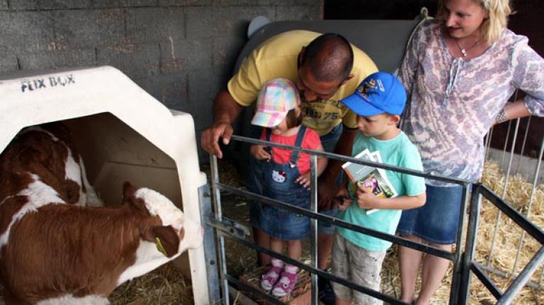Wochenende der Landwirtschaft am 15. Juni: Große und kleine Besucher waren interessiert und begeistert.