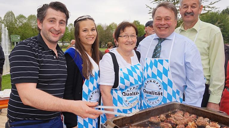 Landwirtschaftsminister Brunner eröffnet am 5. Mai in Bad Füssing die diesjährige Grillsaison