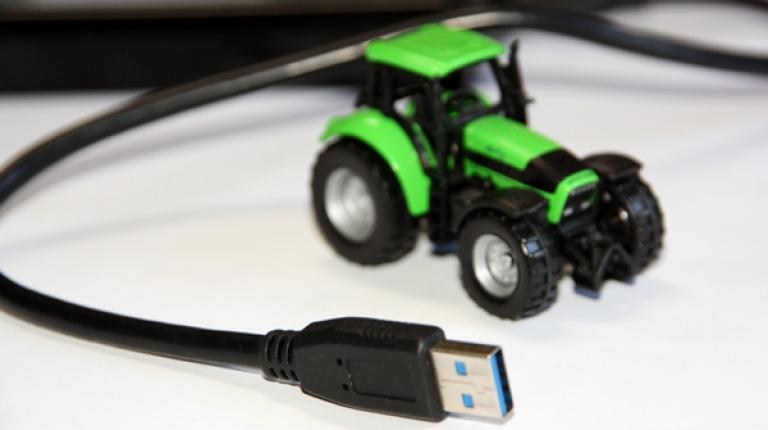 """Digitale Technologien helfen den Landwirten dabei, noch präziser und umweltschonender zu arbeiten"""", so Anton Huber, Getreidereferent beim BBV."""