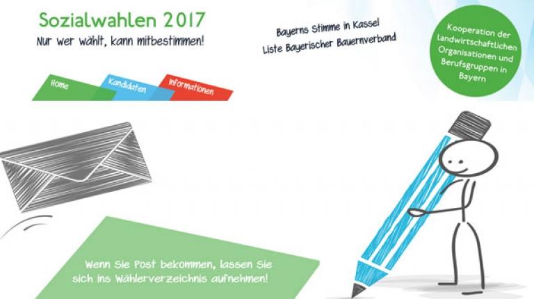 Nutzen Sie Ihr Stimmrecht und wählen Sie die Liste 1, Bayerischer Bauernverband!