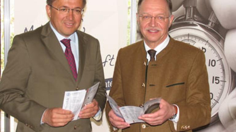 Bauernbundpräsident Grillitsch und Bauernpräsident Sonnleitner
