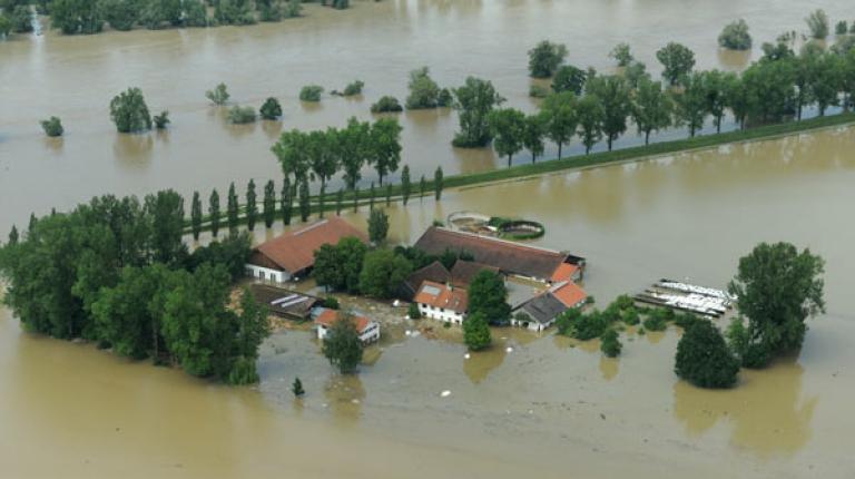 Der Bayerischer Bauernverband ruft zu Hilfe und Spenden für Hochwassergeschädigte auf.