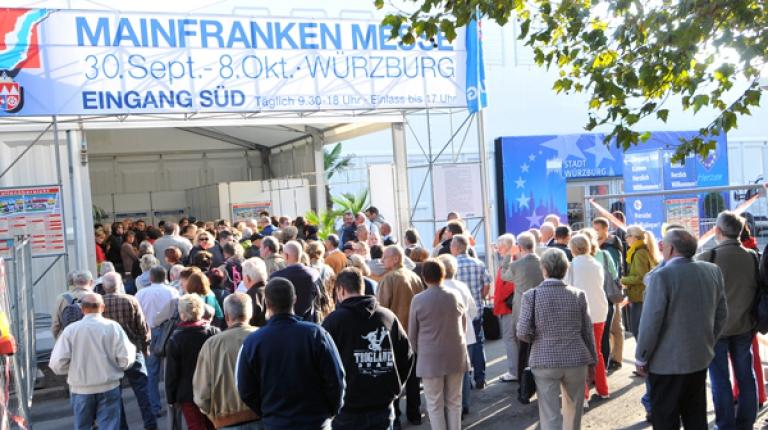 Auch der Bauernverband präsentiert sich auf der Mainfranken-Messe.