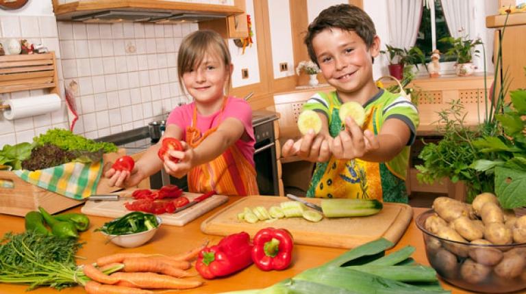 Gesunde und nachhaltige Ernährung lässt sich kinderleicht umsetzen.
