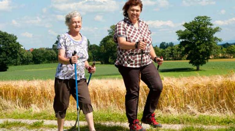 Regelmäßige Bewegung und gesunde Ernährung könnne vor einer Herzerkrankung schützen.