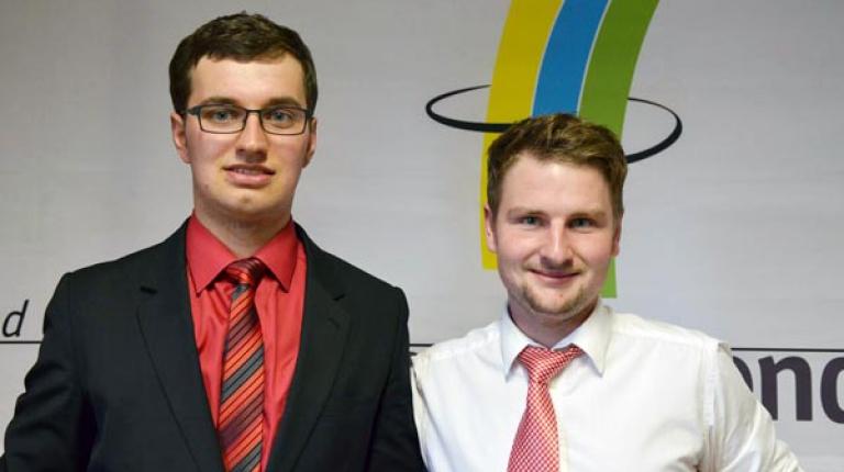 Das Team Johannes Maurer und Johannes Bayer hat in der Sparte Landwirtschaft II den zweiten Platz erreicht.