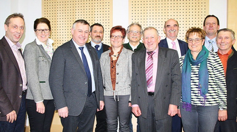 Das Treffen der Listenkandidaten im BBV-Generalsekretariat diente einer umfassenden inhaltlichen Abstimmung und gemeinsamen Positionierung