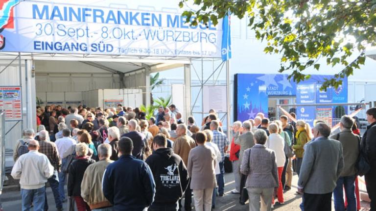 Die Mainfranken-Messe öffnet vom 30. September bis 8. Oktober ihre Türen.