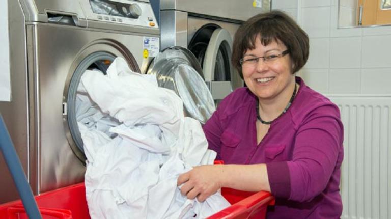 Renate Ixmeier, Kreisbäuerin aus Neustadt-Aisch, ist Meisterin der Hauswirtschaft.