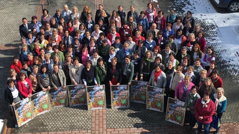 Die Landfrauengruppe feiert ihr 70-jähriges Jubiläum – und das steht natürlich im Mittelpunkt des diesjährigen Kreisbäuerinnen-Seminars, das traditionell im Frühjahr stattfindet.