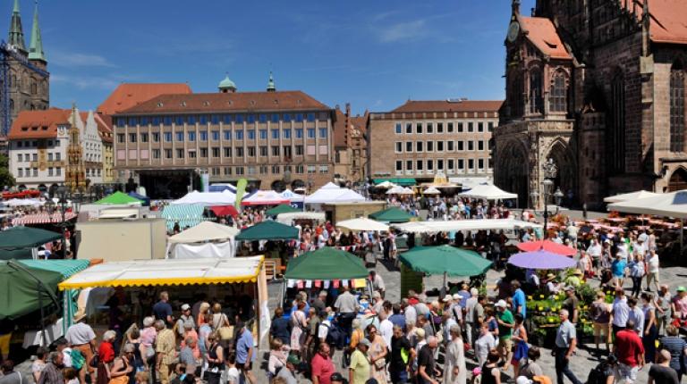 Die Bauernmarktmeile zog wieder tausende Besucher an.